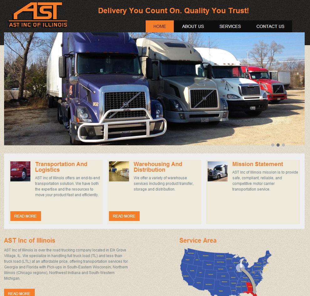 Ast Inc of Illinois